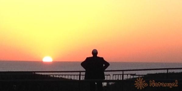 Закат в Нетании (Натании)