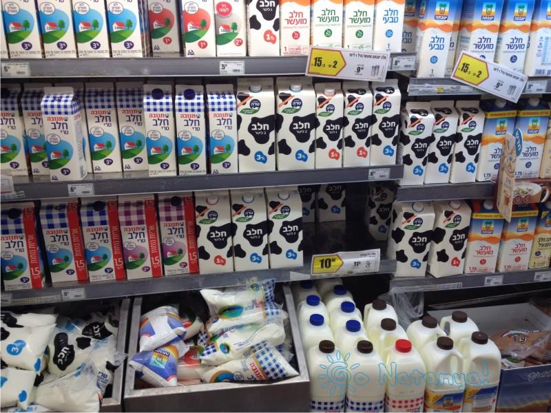 Продуктовые магазины в Натании (Нетании), продукты в Нетании