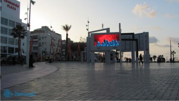 Площадь Независимости (Кикар Ацмаут) в Натании (Нетании)