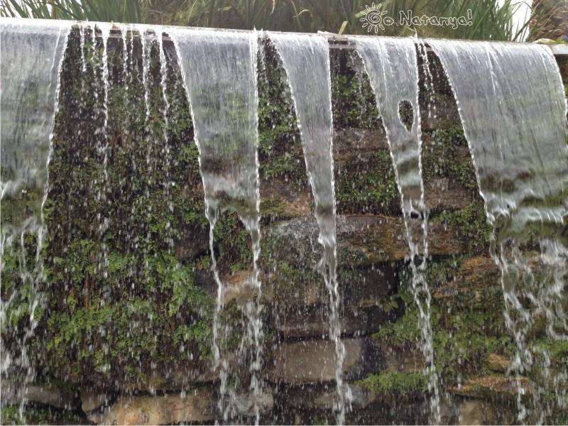 "Ресторан ""Марракеш"" в Натании (Нетании), ресторан с прудом, ресторан с водопадом"