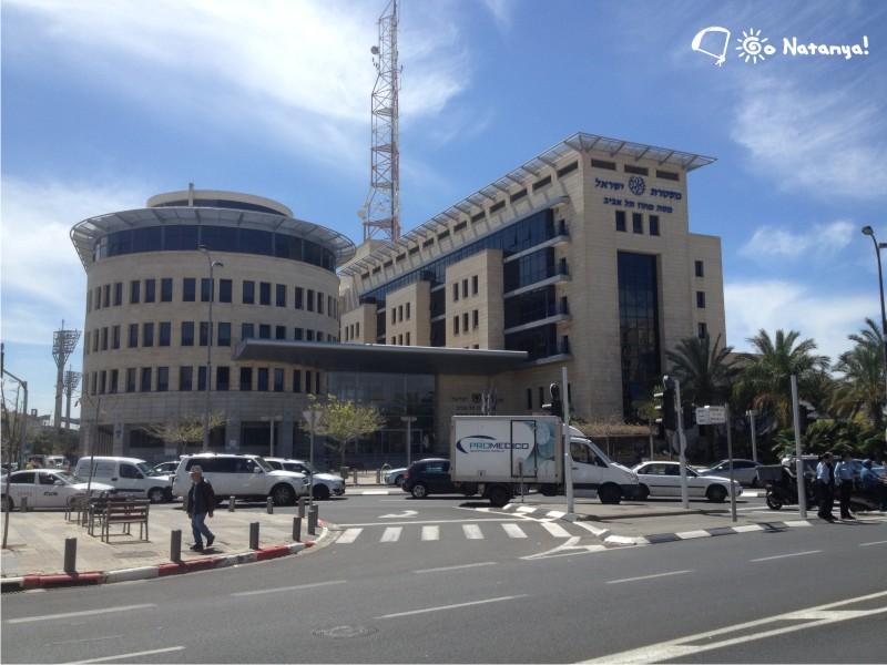 Офис полицейского управления в Тель-Авиве. Стильно и солидно