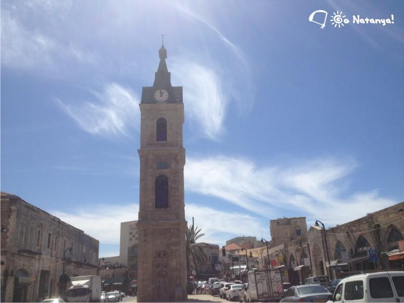 """Башня с часами, или """"Мигдаль ха-Шаон"""", один из самых ярких символов Яффы"""