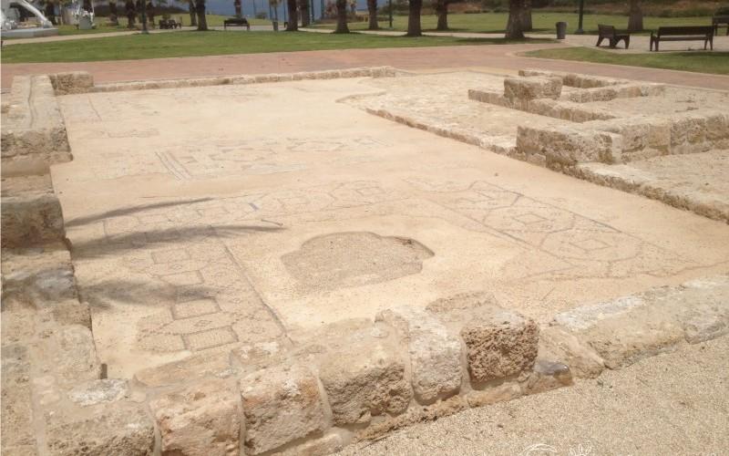 Византийская мозаика из Кирьят-Нордау в Нетании