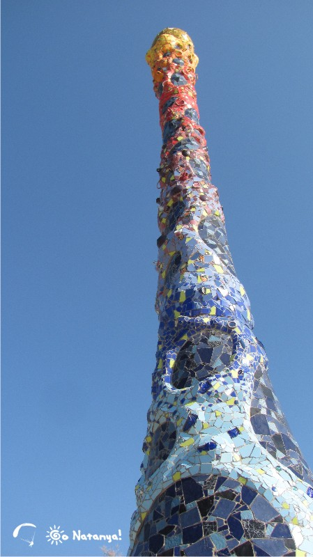 Керамические скульптуры южной части Набережной Нетании