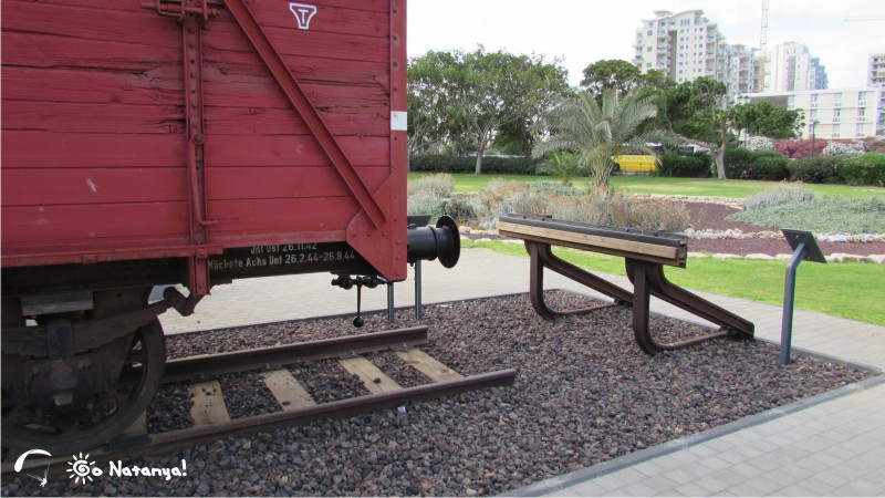 Памятник жертвам Холокоста в мемориальном парке Яд-леБаним